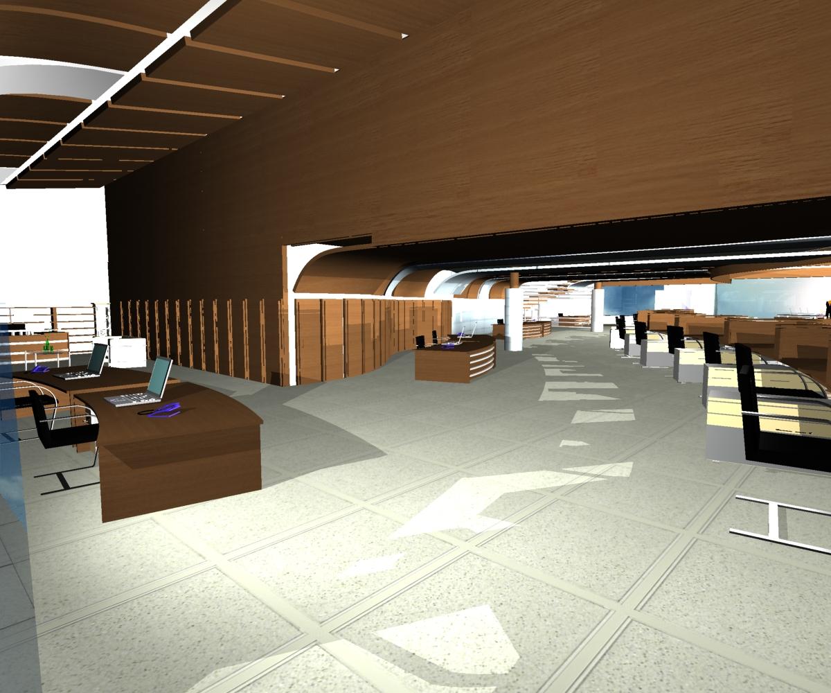 پلان دفتر فنی مهندسی ( اتوکد - رندر - psd - پوستر )