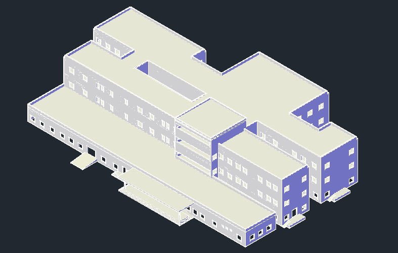 Hospital plan whit 3d (2)
