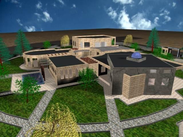 پلان کامل خانه کودک ( اتوکد - رندر - پوستر - آنالیز - psd - عکس ماکت - رساله )