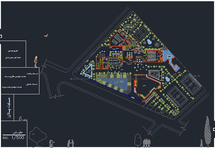 رساله میدان - زیستگاه همراه با نقشه ها