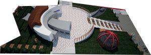 پلان موزه ( اتوکد - رندر - پوستر )