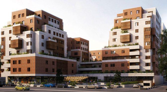 2 رساله طراحی مجتمع مسکونی بصورت کامل