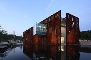 رساله معماری موزه صلح