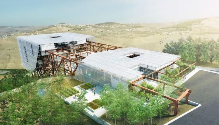 رساله معماری خانه حیات ( مرکز توانبخشی )