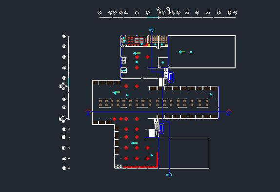 پروژه بیمارستان 4 طبقه