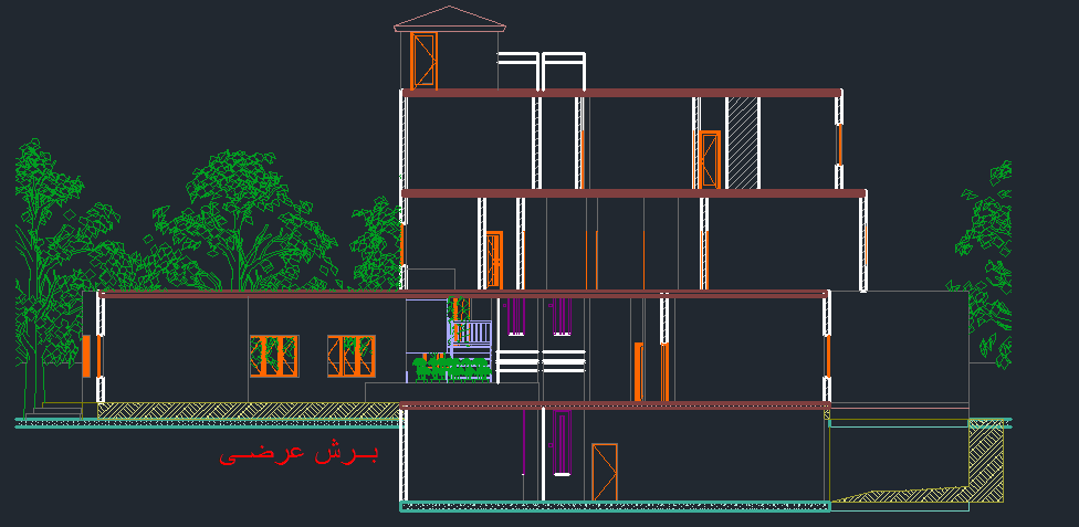طرح کامل هتل