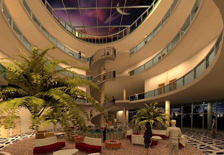 طرح هتل