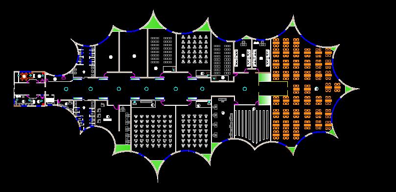 پکیج کامل پلان موزه