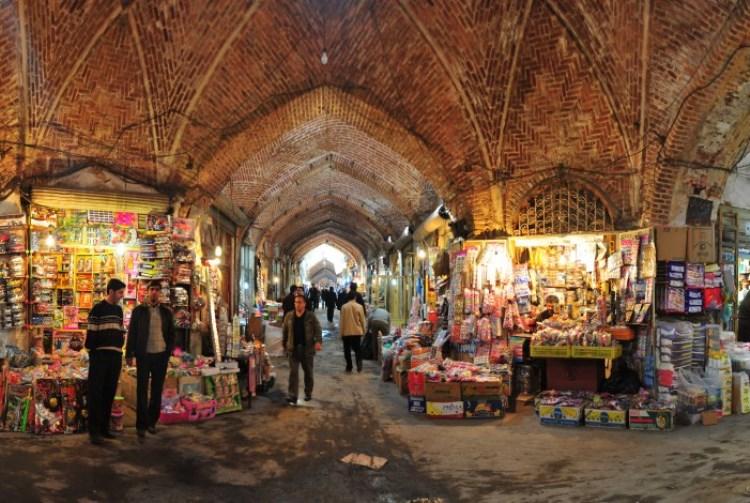 مرمت بازار تبریز