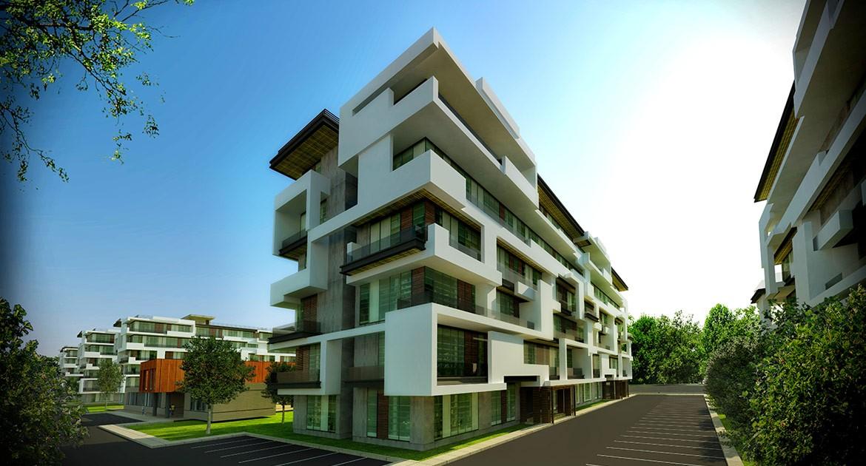 پایان نامه ارشد طراحی مجتمع مسکونی چند واحدی