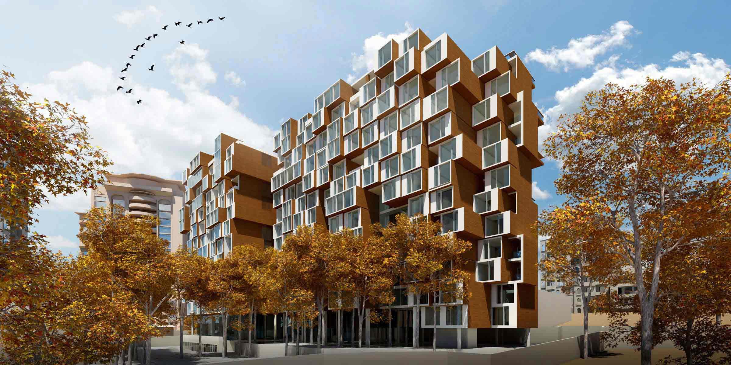 مجتمع مسکونی با تاکید بر ایجاد فضا های امن