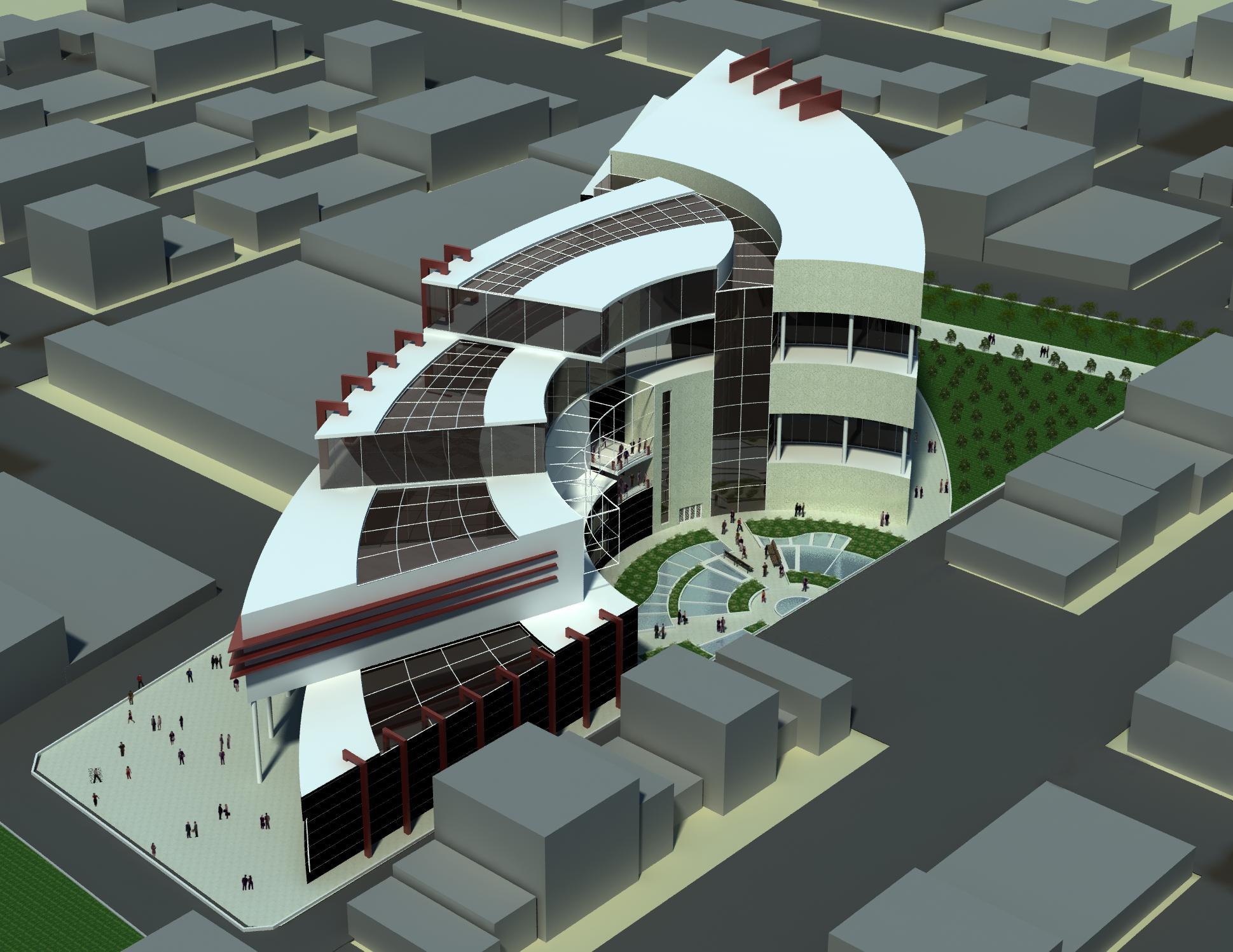 پروژه مرکز اداری تجاری