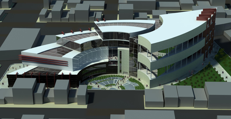 پروژه مرکز تجاری اداری