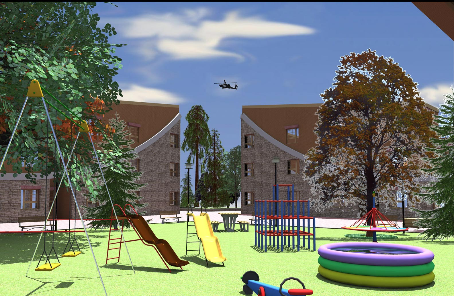 Complete project of residential complex (4)