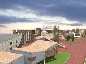 طرح کامل مجتمع مسکونی طرح 5