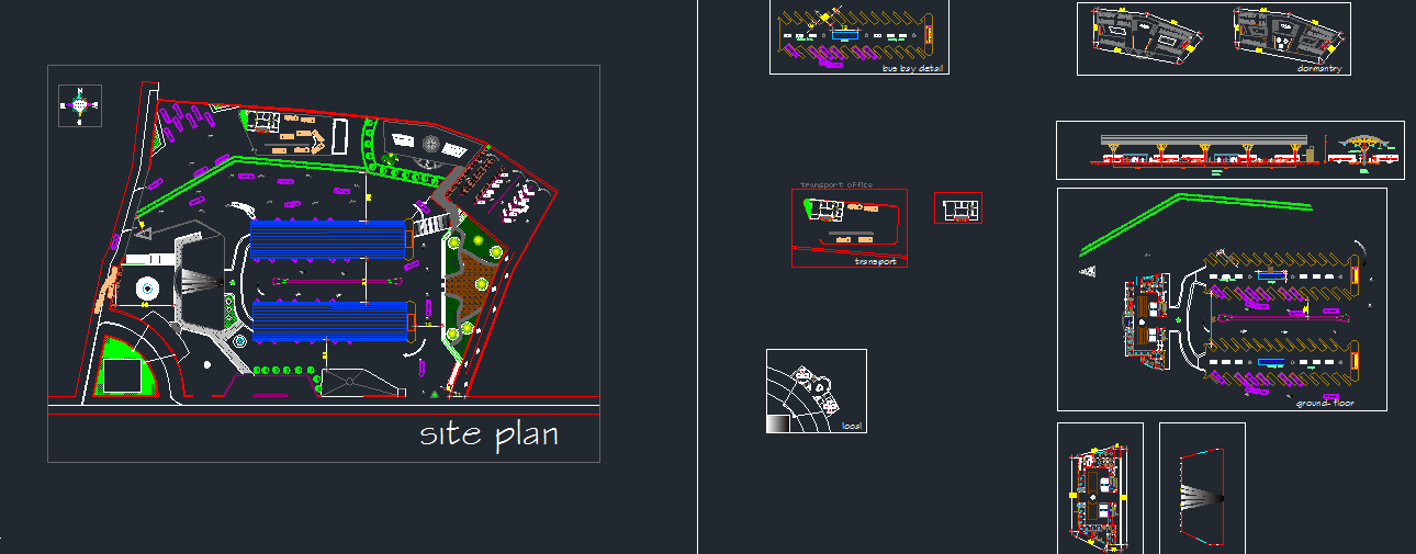 پکیج نقشه ترمینال