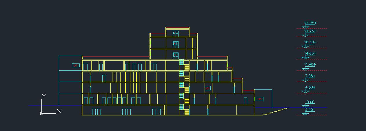 طرح بیمارستان عمومی کامل