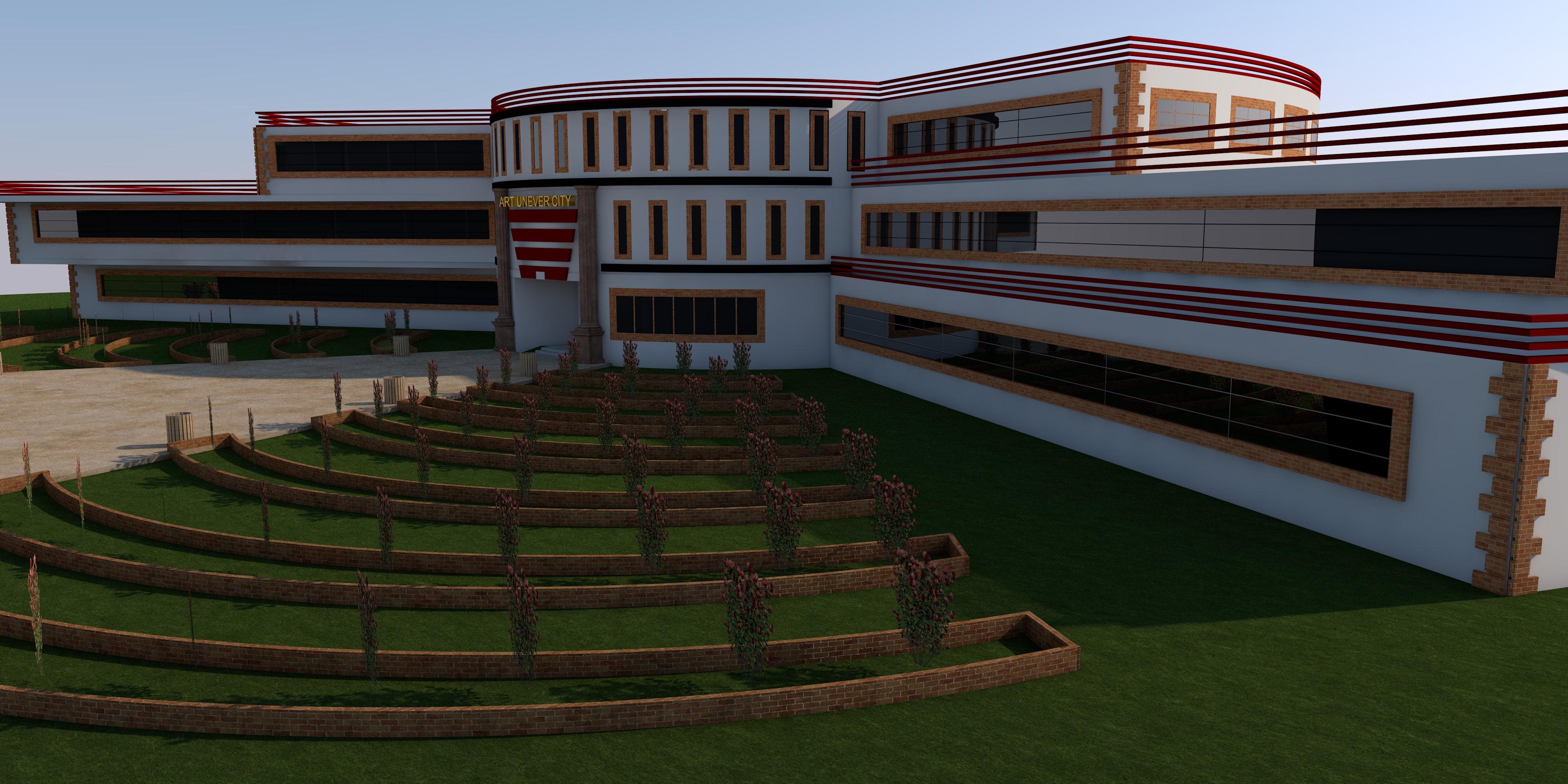 طرح دانشکده هنر کامل