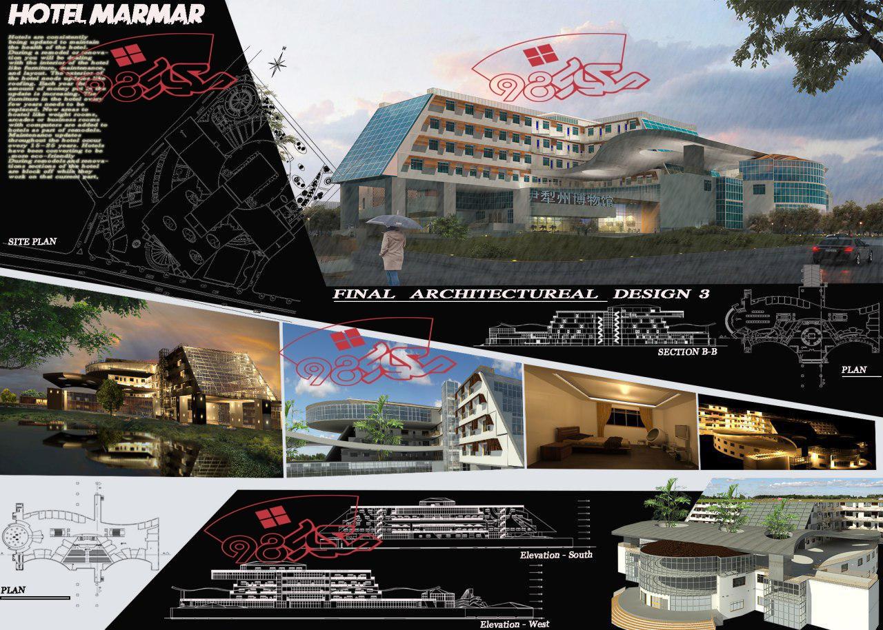 پروژه کامل هتل زیبا