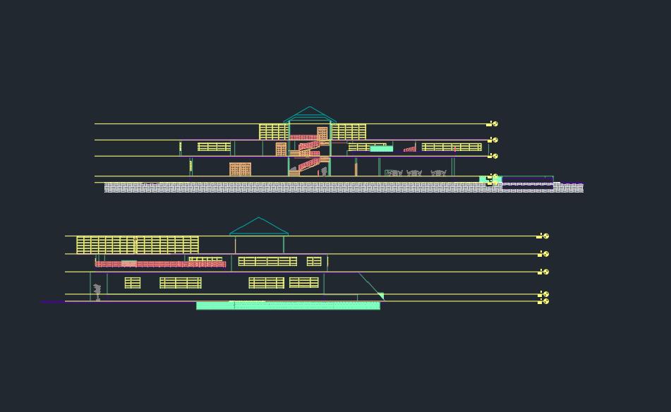 نقشه سرای هم اندیشی معماران