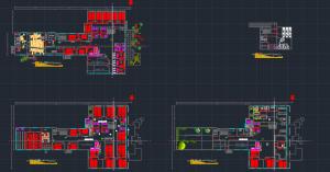 نقشه دانشکده هنر با جزئیات