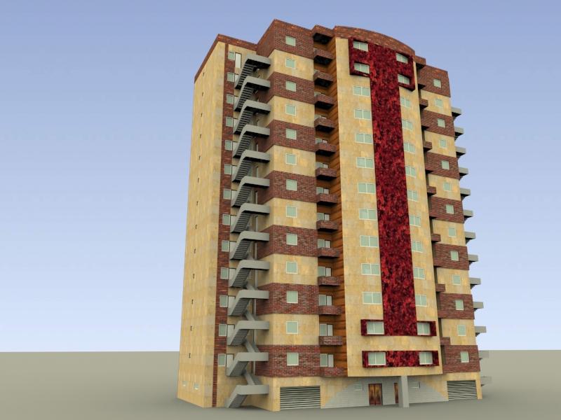 پروژه مسکونی طرح 5 معماری