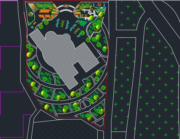 نقشه موزه فرش کامل با جزئیات
