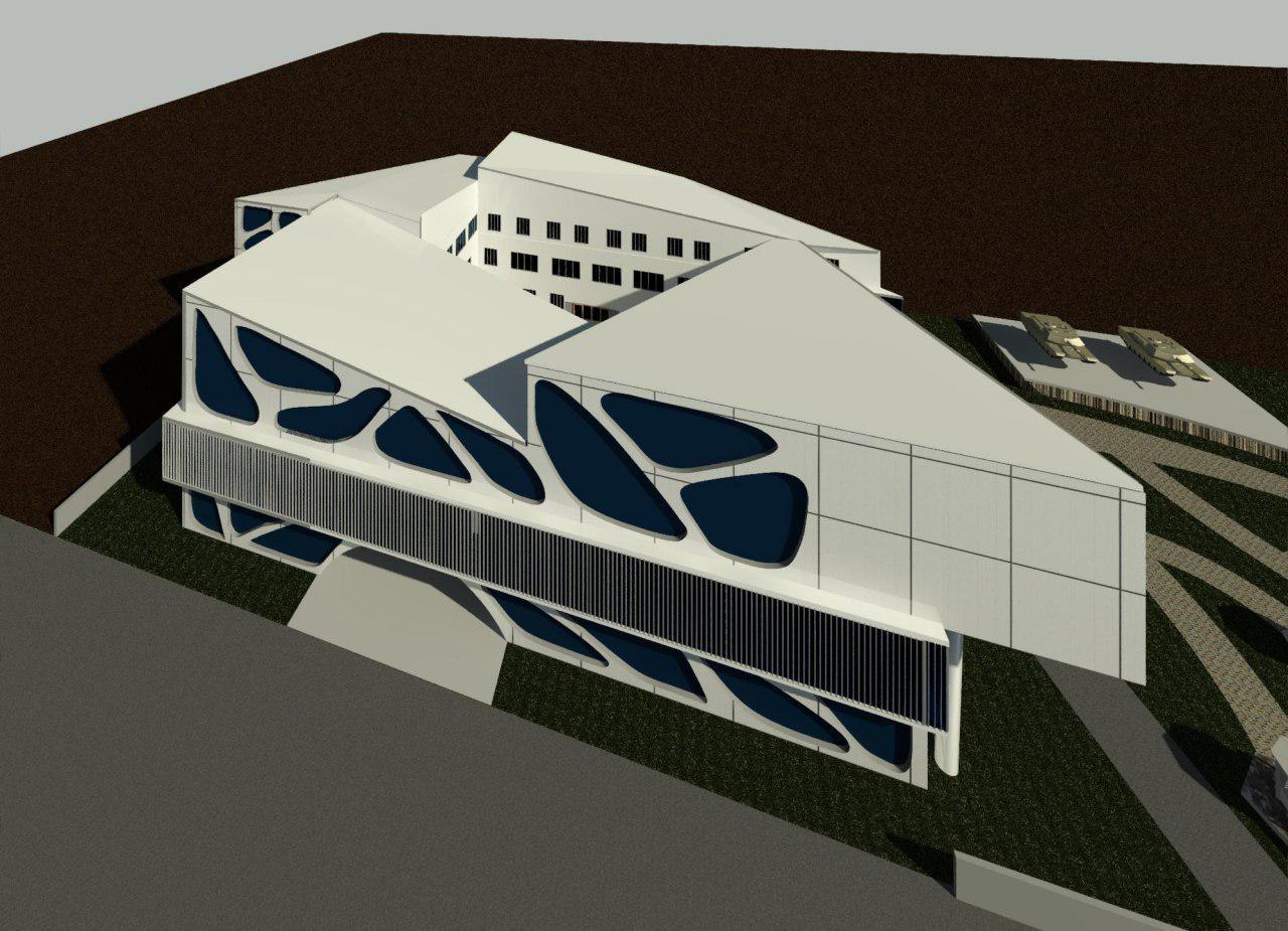 Complete plan of war museum (4)