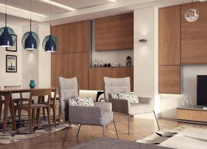 طرح مجتمع مسکونی 14 طبقه کامل