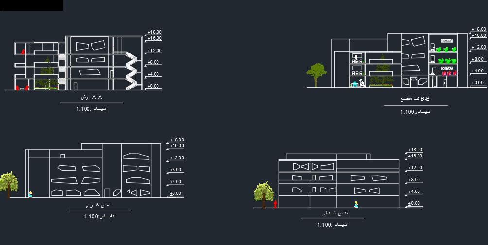 طرح دانشکده هنر های کاربردی با تمامی مدارک