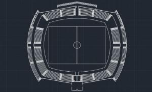پروژه استادیوم فوتبال کامل با تمامی جزئیات