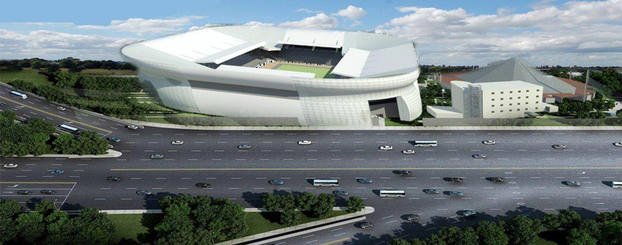 پلان کامل استادیوم
