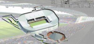 نقشه استادیوم ورزشی فوتبال