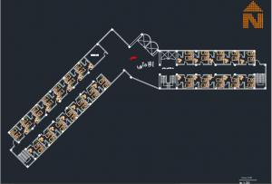 نقشه کامل هتل با تمامی مدارک کامل
