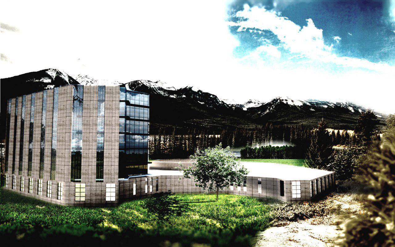 پروژه هتل با تری دی