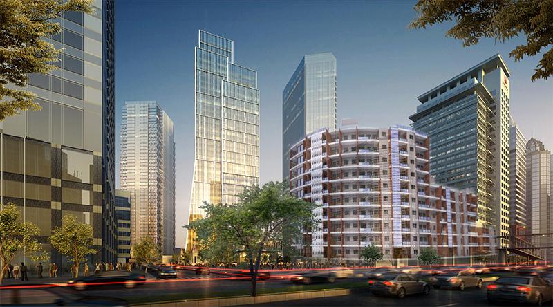 نمونه پروژه کامل مجتمع مسکونی