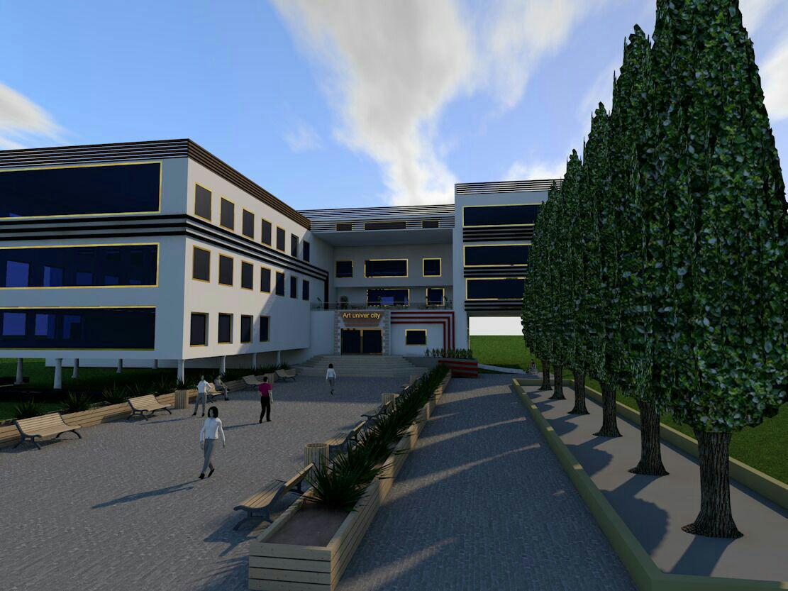Architectural project of the Faculty of Art Full (1)