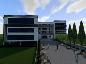 پلان دانشکده هنر با جزئیات کامل