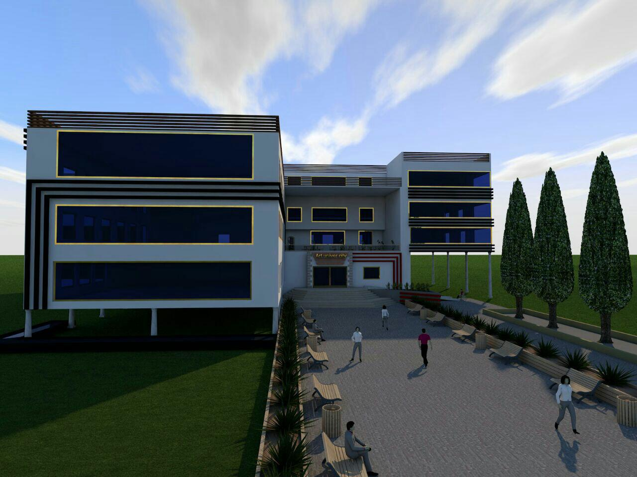 Architectural project of the Faculty of Art Full (2)