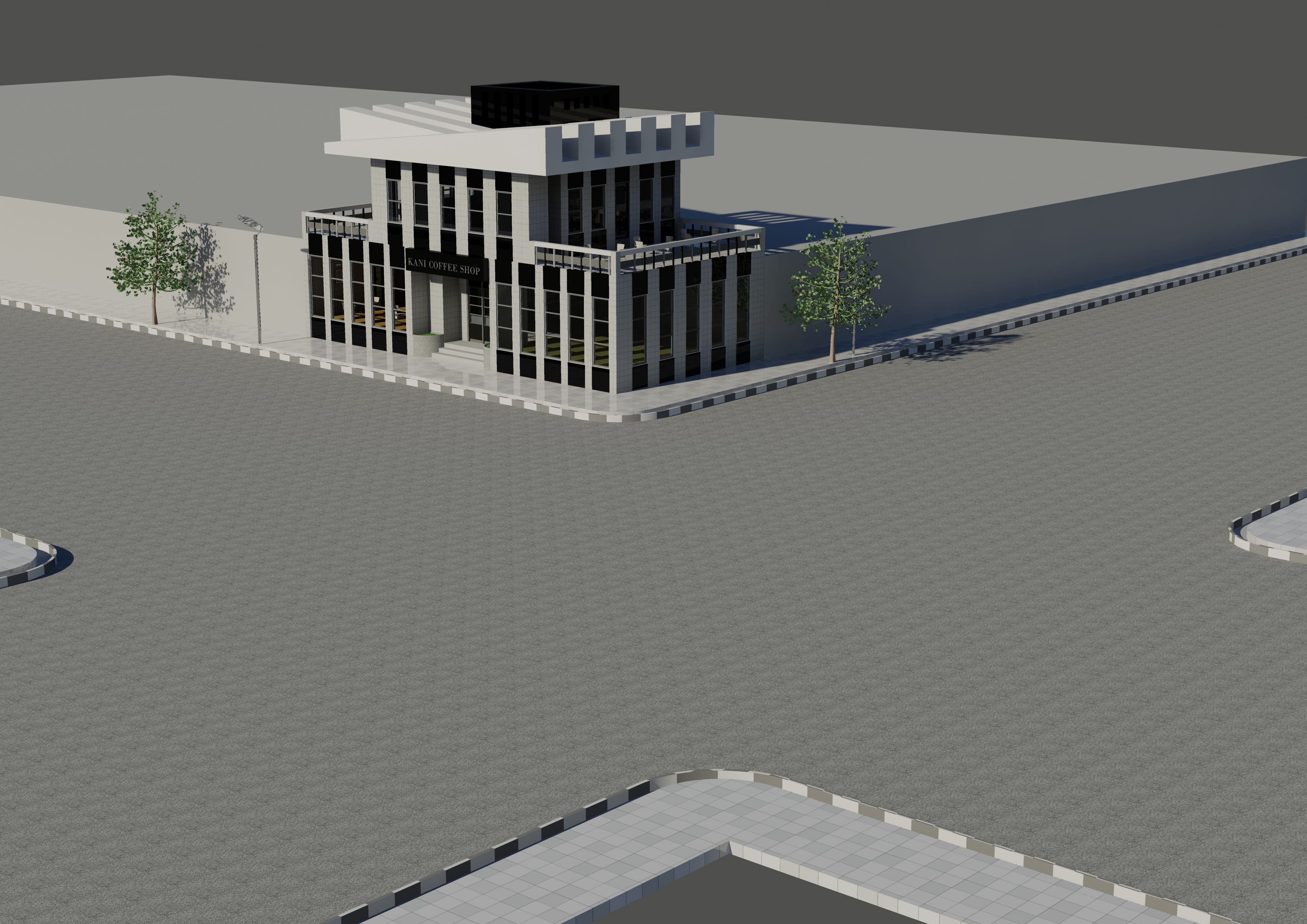 Coffee Shop Architectural Project (1)