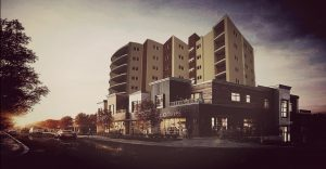پلان مجتمع مسکونی 120 واحدی