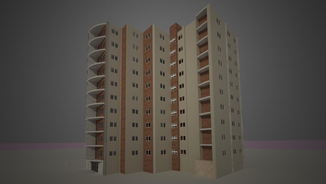 طرح کامل مجتمع مسکونی 120 واحدی