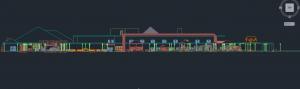 نقشه کامل مدرسه دانش آموزان معلول