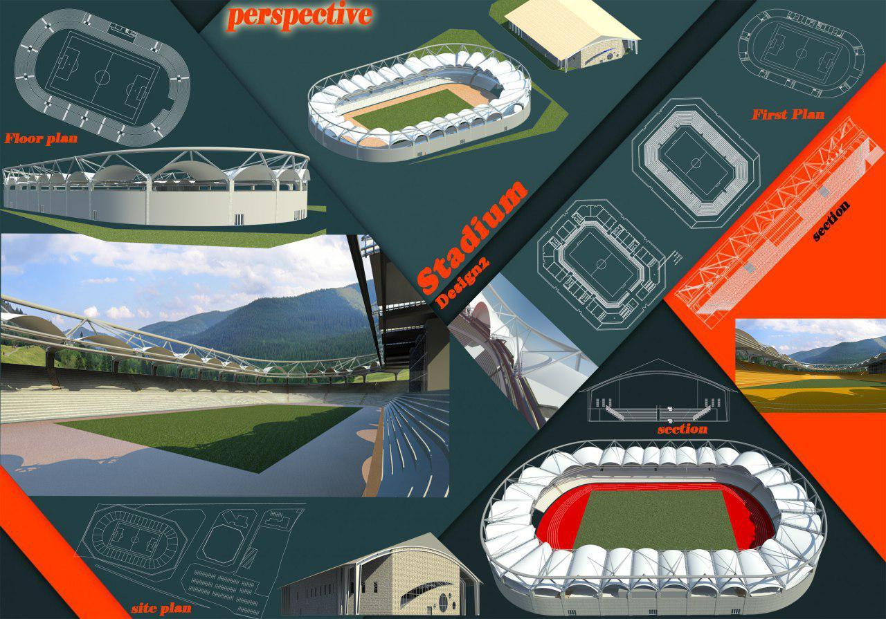 پروژه ورزشگاه کامل