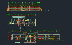 طرح کامل بیمارستان 64 تخته خوابی