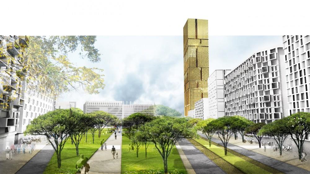 مطالعات کامل طراحی مجتمع مسکونی با رویکرد کاهش مصرف انرژی