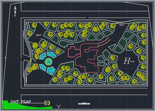 پروژه کامل بیمارستان 64 تختی با تمامی جزئیات