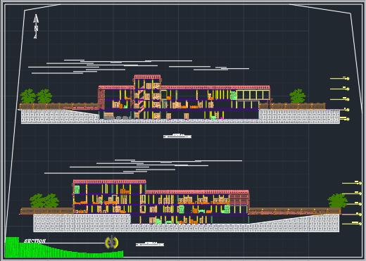 پروژه بیمارستان 64 تختی با جزئیات کامل