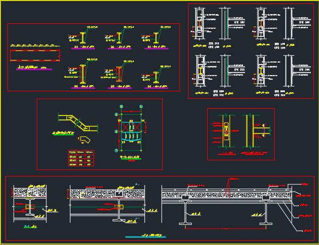 پروژه طراحی فنی ساختمان اداری با جزئیات کامل