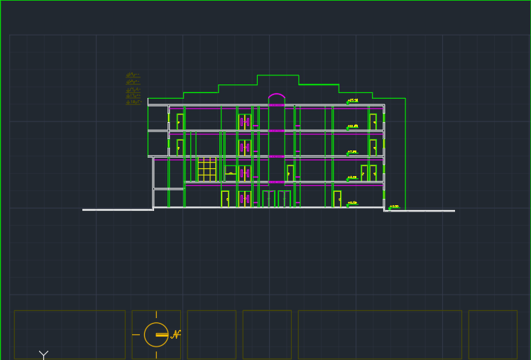 Technical design of office building (8)